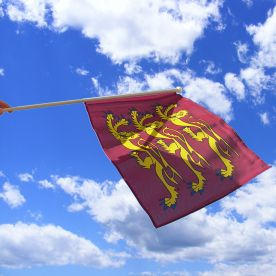 Richard The Lionheart hand flag