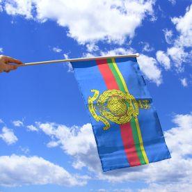 Royal Marines Hand Waving Flag