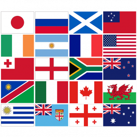 Rugby World Cup Flag