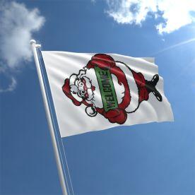 Santa Welcome Flag