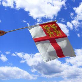 Sark Hand Waving Flag