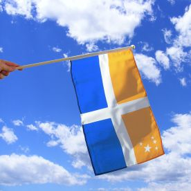 Scilly Isles Hand Waving Flag
