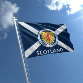 Scotland Football Flag 5Ft X 3Ft