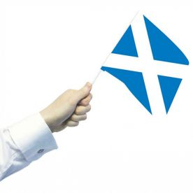 Scotland Hand Flags Pack Of 12