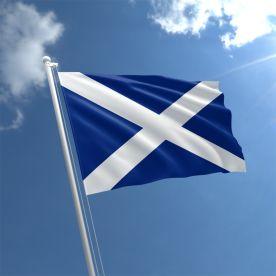 Scotland Flag (Navy Blue) - Nylon