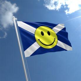 Scotland Smiley Face Flag