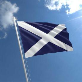 Scotland Flag (Navy Blue) 5Ft X 3Ft