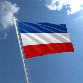 Serbia Montenegro Flag
