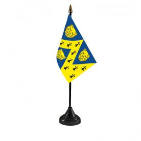 Shropshire table flag