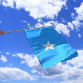 Somalia Hand Waving Flag
