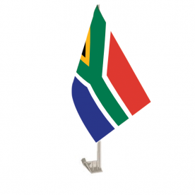 South Africa Car Flag