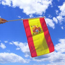 Spain Hand Waving Flag