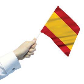 Spain Hand Flags
