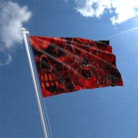 Spider Skull Flag