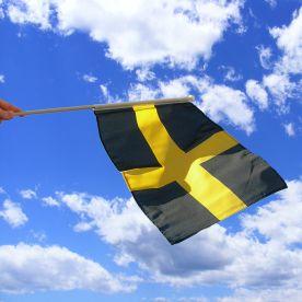 St Davids Cross Hand Waving Flag