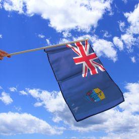 St Helena Hand Waving Flag