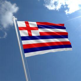 Red/Blue/White Striped Ensign Flag