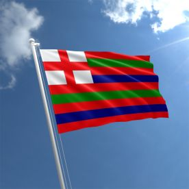 Red/Green/Blue Striped Ensign Flag