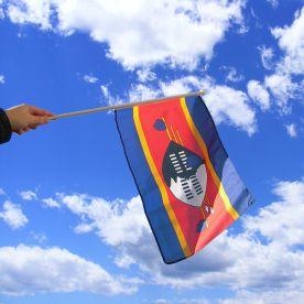 eSwatini Hand Waving Flag