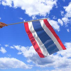 Thailand Hand Waving Flag