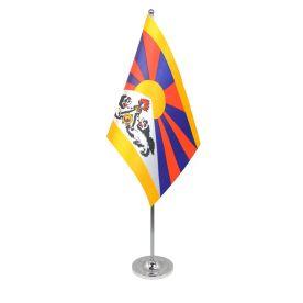 Tibet table flag satin