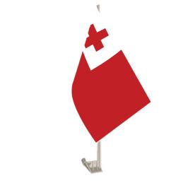 Tonga Car Flag