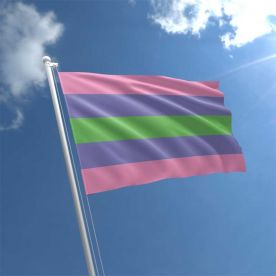 Trigender flag