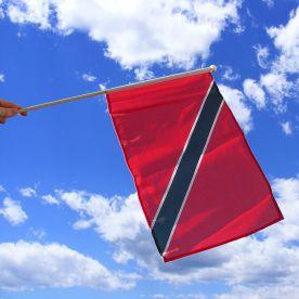 Trinidad & Tobago Hand Waving Flag