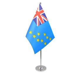 Tuvalu table flag satin