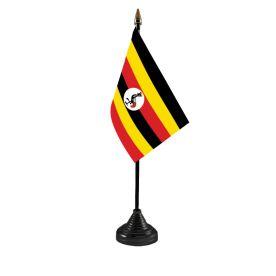 Uganda Table Flag
