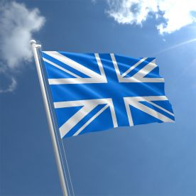 Blue Union Jack flag
