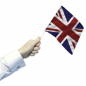 Union Jack Hand Flags