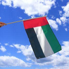 United Arab Emirates Hand Waving Flag