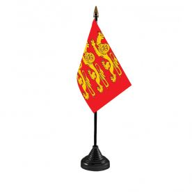 Upper Normandy Table Flag