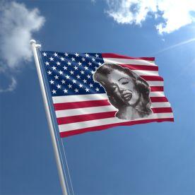 USA Marilyn Monroe Flag