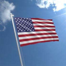 small USA Flag Rope & Toggle