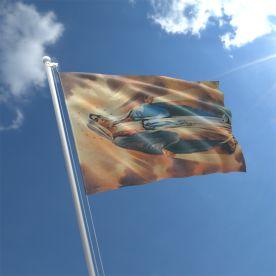 Virgin Mary Flag