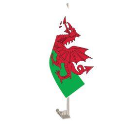 Wales Car Flag