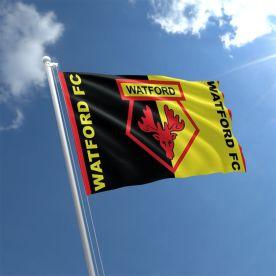 Watford FC Flag 5Ft X 3Ft