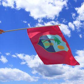 West Indies Hand Waving Flag