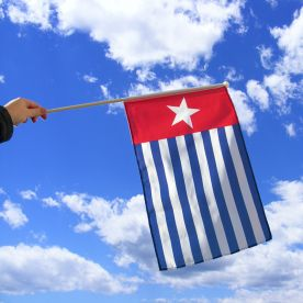 West Papua Hand Flag