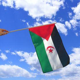 Western Sahara Hand Waving Flag