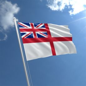 White Ensign flag rope & toggle