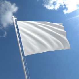 White Flag 3Ft X 2Ft