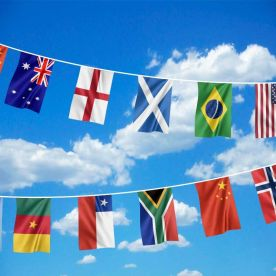 Women's Football World Cup Bunting