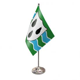 Worcestershire Table Flag Satin