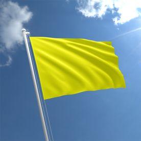 Plain Yellow Flag - Nylon