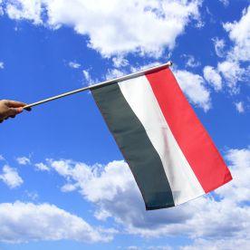 Yemen Hand Waving Flag