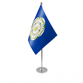 Yorkshire table flag satin